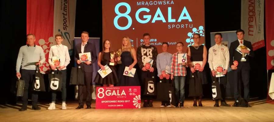 Tegoroczni nominowani w pełnej krasie podczas VIII Gali Sportu