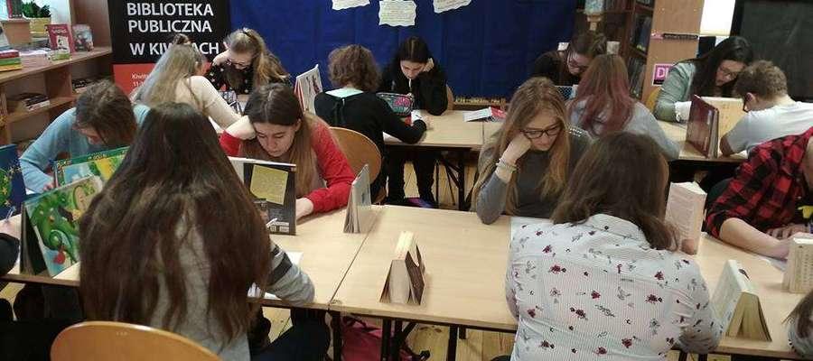 Fot.— W konkursie wzięła udział młodzież z klas IV-VII SP, II i III OG