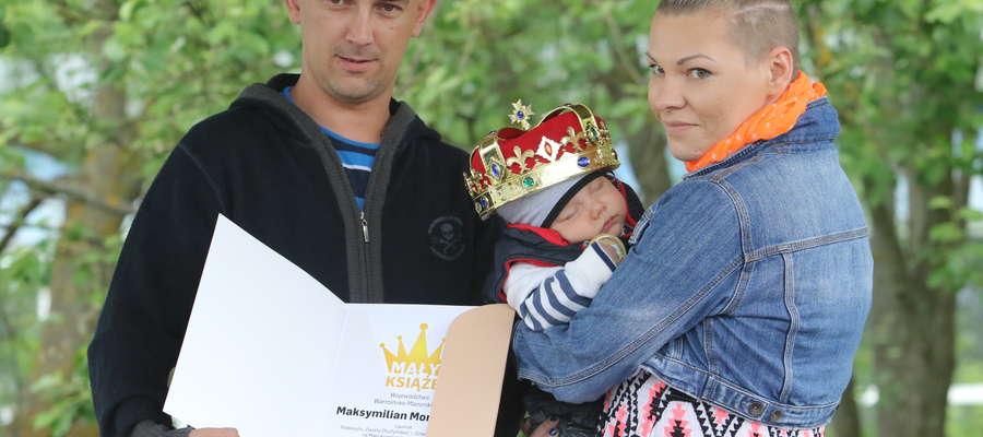Maksymilian Monkiewicz w ubiegłym roku zdobył tytuł Małego Księcia