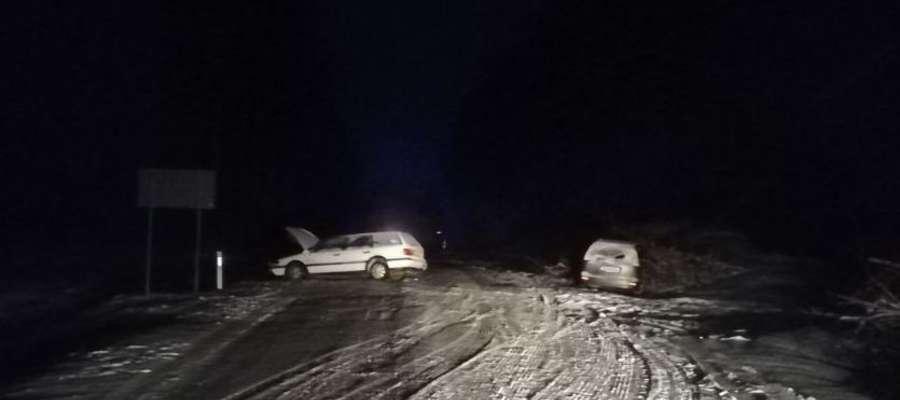 Wypadek w miejscowości Stożne