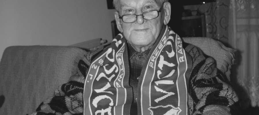 Witold Ujda, założyciel Victorii Bartoszyce, zmarł w wieku 101 lat