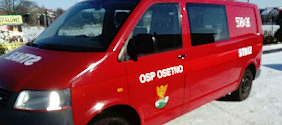 Auto, które w sobotę trafi do Osetna