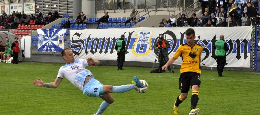 Stomil Olsztyn już rozgrywał ligowe mecze w Ostródzie
