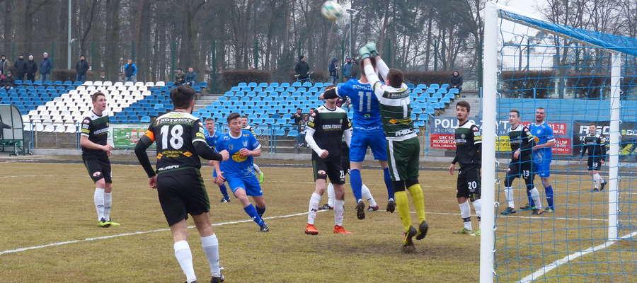 Zdjęcie ilustracyjne, mecz Jeziorak Iława - GKS Stawiguda