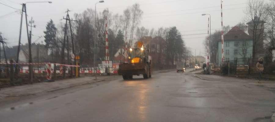 Przez najbliższych kilka dni ruch drogowy na ul. Drwęckiej będzie odbywał się bez zmian