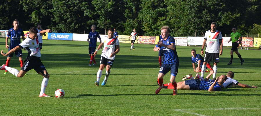 W rundzie jesiennej Sokół przegrał w Morągu 1:2