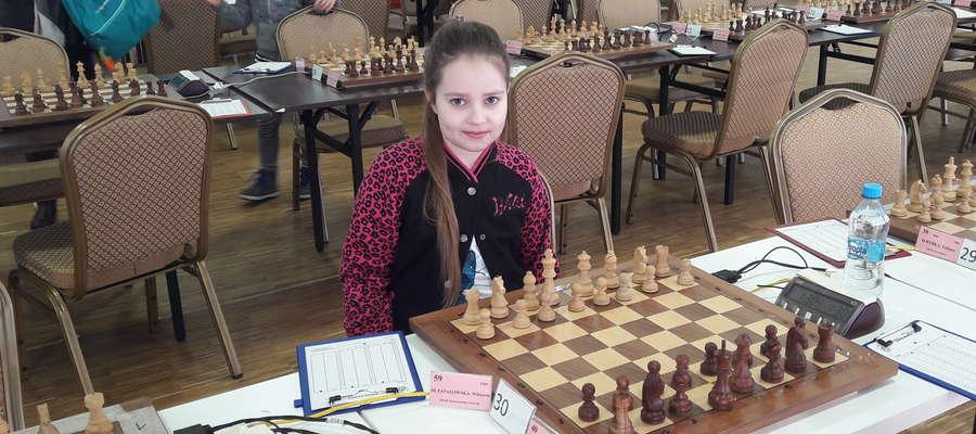 Wiktoria Zapałowska wystartowała w mistrzostwach Polski U-10