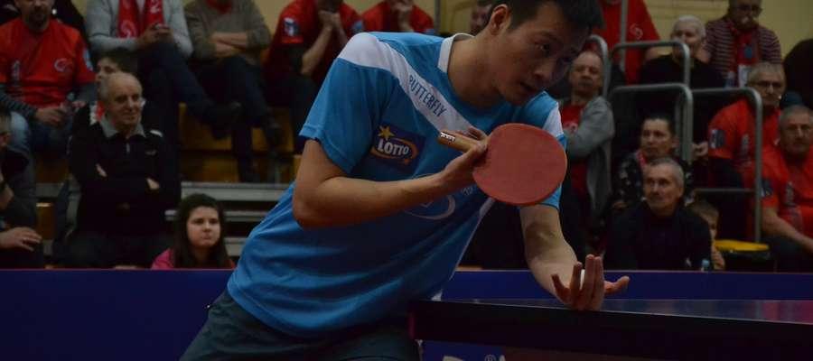 Wang Yang zdobył w dwóch ostatnich meczach komplet czterech punktów dla Dekorglassu