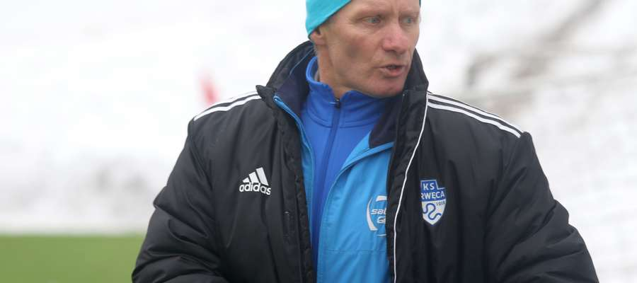— Zrobimy wszystko, żeby sportowo utrzymać się w III lidze — obiecuje szkoleniowiec Drwęcy, Piotr Zajączkowski
