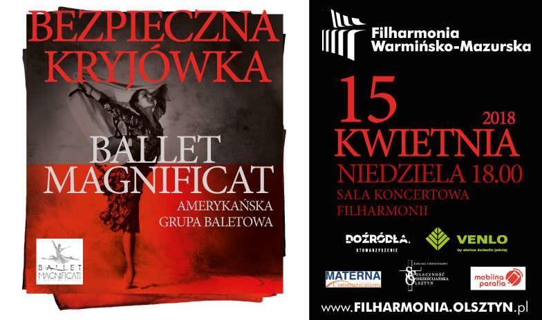 Ballet Magnificat w filharmonii w Olsztynie - full image