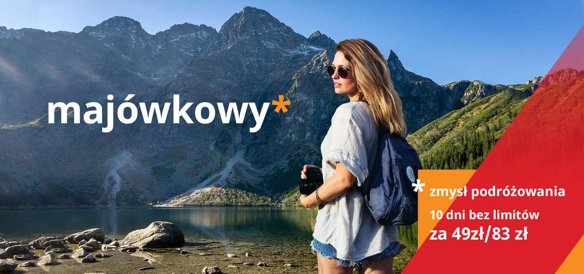Majówkowy zmysł podróżowania z POLREGIO - full image