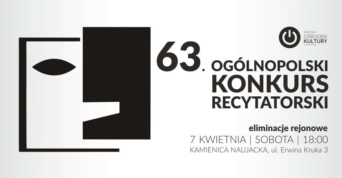 Rejonowe eliminacje do 63. Ogólnopolskiego Konkursu Recytatorskiego - full image