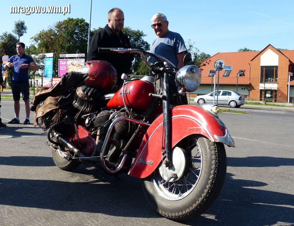 Miłośnicy zabytkowych motocykli zjadą się do Mrągowa po raz drugi - full image