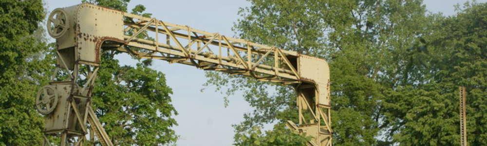 Niezwykła historia mostu zwodzonego w Szopach