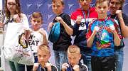 Fantastyczny start najmłodszych kickboxerów Zamku Expom Kurzętnik