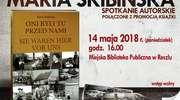 Spotkanie autorskie z Marią Skibińską