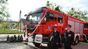 Wóz strażacki dla Krasnego