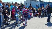 Majówkowy wyścig na hulajnogach