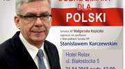 Marszałek Stanisław Karczewski w sobotę porozmawia z giżycczanami