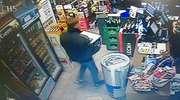 Ukradł karton whisky. Policjanci przejrzeli monitoring i od razu go rozpoznali