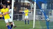 Olimpia przegrała z Błękitnymi 0:1. Sędzia nie uznał dwóch goli [film, zdjęcia]