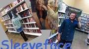 Ubrani w książkę czyli Sleeveface w bibliotece - konkurs Szkoły Policealnej