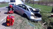 Wypadek w Osiece. Utrudnienia na drodze krajowej nr 51