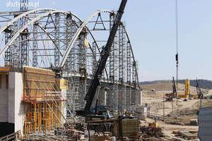 Dwa miesiące poślizgu na budowie obwodnicy Olsztyna [ZDJĘCIA, VIDEO]