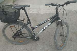 Znaleziony rower jest do odbioru na komendzie policji