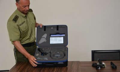Straż Graniczna ma nowe urządzenie do wykrywania przemycanych towarów