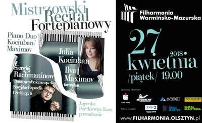 Duet fortepianowy Kociuban/Maximov