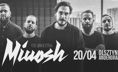 Już 20 kwietnia olsztyński koncert Miuosh x FDG. Orkiestra