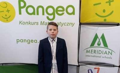 Emil Bednarczyk w Finale Konkursu Matematycznego PANGEA