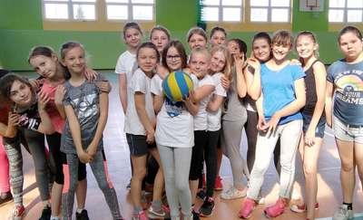 Wiosenna Liga w Grach Zespołowych Dziewcząt w SP2