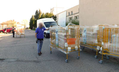 Fundacja WOŚP przekazał naszemu szpitalowi 20 łóżek