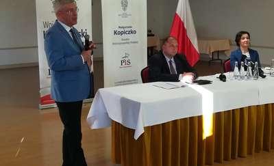 Marszałek Karczewski spotkał się z ełczanami