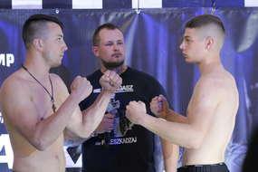 Kilka godzin przed walką: Damian Bastek (z lewej) i Sebastian Kuźniak