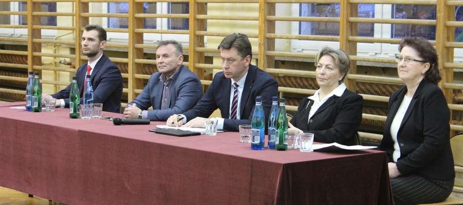 Parlamentarzyści obiecali przekazać postulaty wnoszone przez mieszkańców Ministrowi Rolnictwa.
