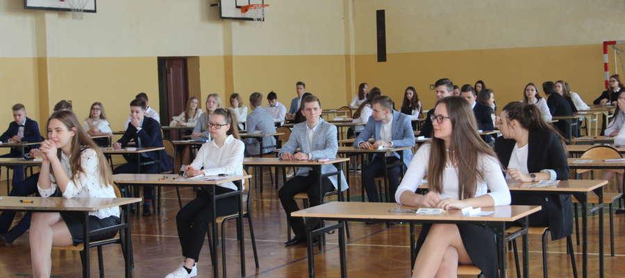 Na terenie powiatu żuromińskiego egzaminy zdawało 437 uczniów.