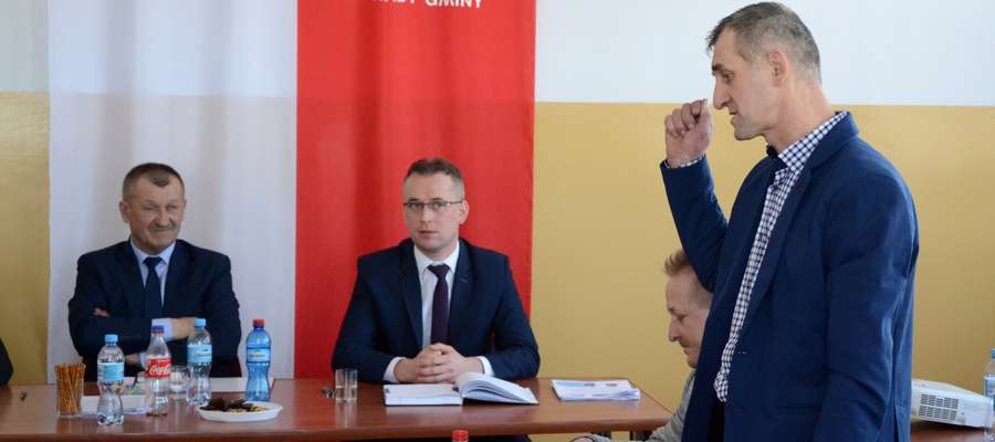 Do sprawy odniósł się Andrzej Balicki – radny i naczelnik OSP Rzęgnowo