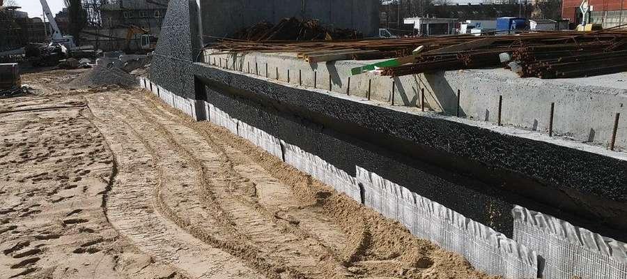 Budowa wiaduktu na Zatorze