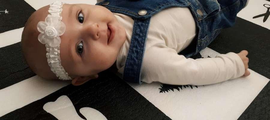 Blanka Wojciuszkiewicz (6 miesięcy) z Windy