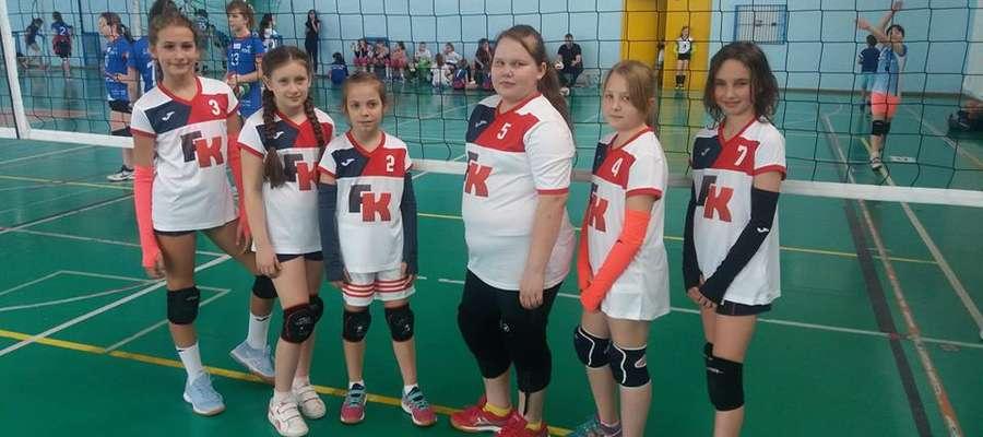 Dziewczęta z Mini Volley Żuromin znów rywalizowały w turnieju ligowym