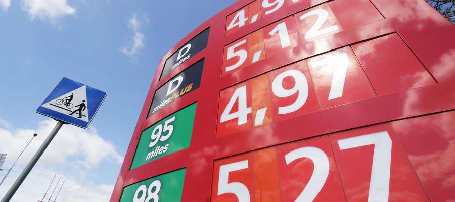 ceny paliw 18.04
