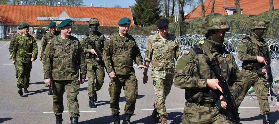 Generał Dywizji Flemming Mathiasen z wizytą w Elblągu