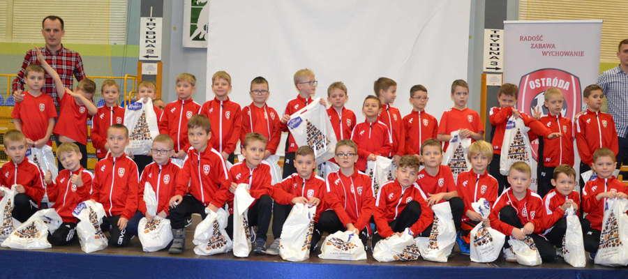 W AP Ostróda trenuje ponad 300 młodych piłkarzy z Ostródy i okolicznych miejscowości