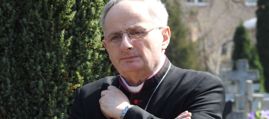 Biskup elbląski Jacek Jezierski