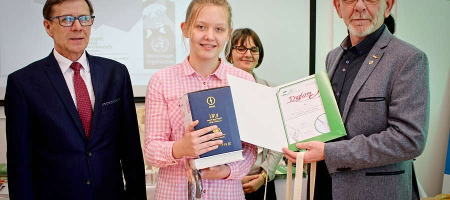 Podczas wręczania nagród i dyplomów