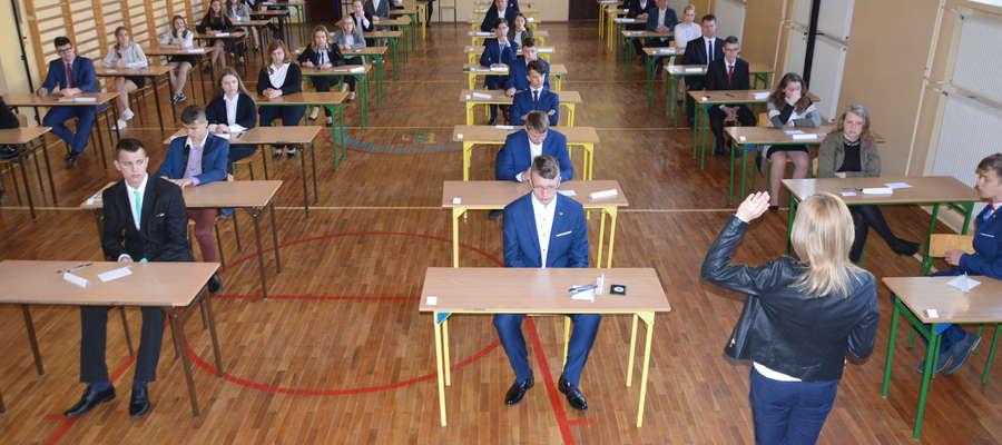 Egzamin gimnazjalny za nami