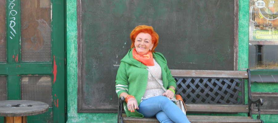 Anna Apanasewicz, emerytowana policjantka z Olsztyna.